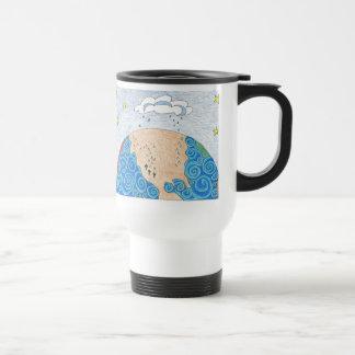 physical geography travel mug