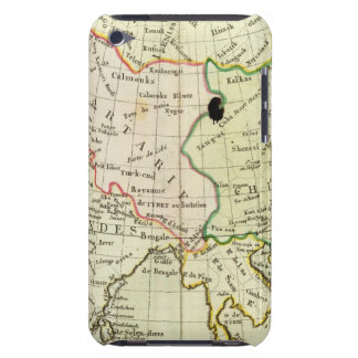 Physical map of Asia Barely There iPod Cases