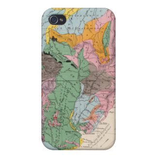 Physical Map of South America iPhone 4/4S Cover