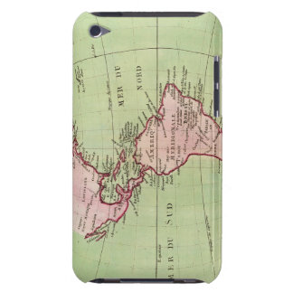 Physical map of the Americas iPod Case-Mate Case
