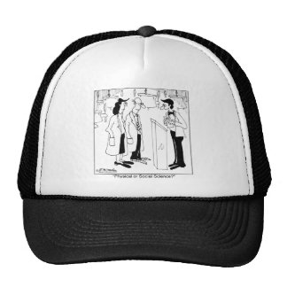 Physical or Social Science? Mesh Hat