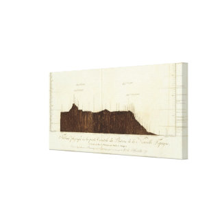 Physical picture of the slope canvas print