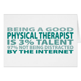 Physical Therapist 3% Talent Card