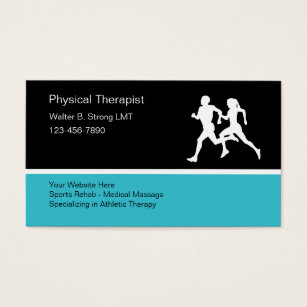Sports massage therapy business cards business card printing physical therapist business card template flashek Choice Image