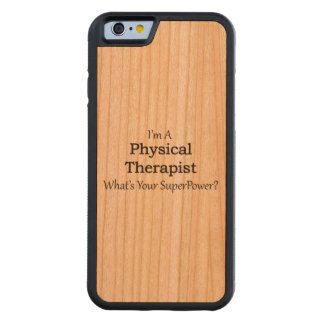 Physical Therapist Carved Cherry iPhone 6 Bumper Case