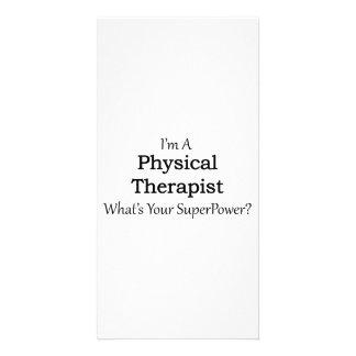 Physical Therapist Custom Photo Card
