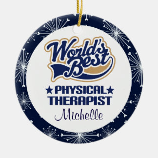 Physical Therapist Personalized Gift Ornament