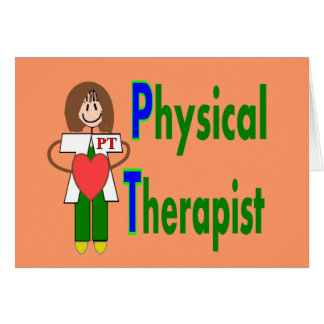 Physical Therapist T-shirts and Gifts Card