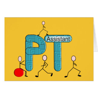 Physical Therapy Assistant Gifts Card
