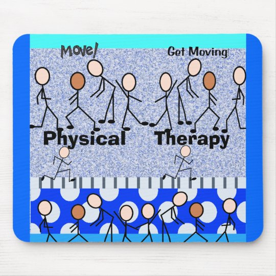 Physical Therapy Employee Gifts Mouse Mat