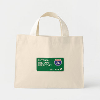 Physical Therapy Next Exit Tote Bags