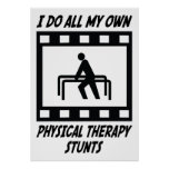 Physical Therapy Stunts Print