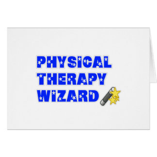 Physical Therapy Wizard Card