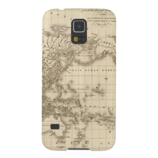 Physical world map galaxy s5 case