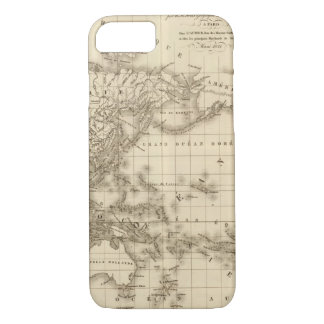 Physical world map iPhone 8/7 case