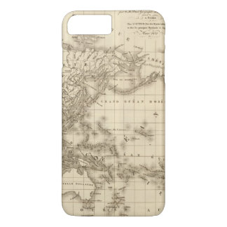 Physical world map iPhone 8 plus/7 plus case
