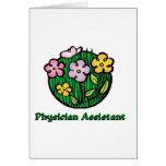 Physician Assistant Blooms1 Greeting Card