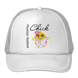 Physician Assistant Chick Trucker Hats