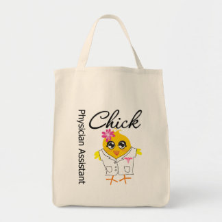 Physician Assistant Chick v2 Tote Bag