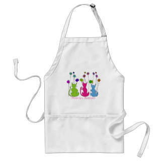 Physician Assistant Gifts Whimsical Cats Design Standard Apron