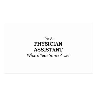 PHYSICIAN ASSISTANT PACK OF STANDARD BUSINESS CARDS