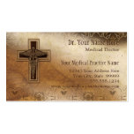 Physician Medical Doctor Practice Christian Symbol Pack Of Standard Business Cards
