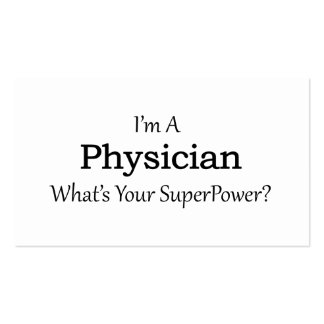 Physician Pack Of Standard Business Cards