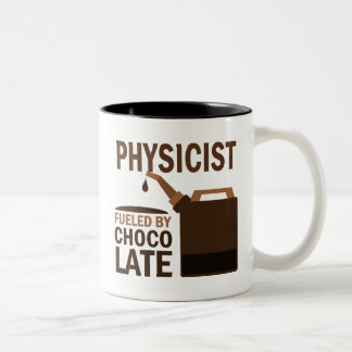 Physicist (Funny) Gift Two-Tone Mug
