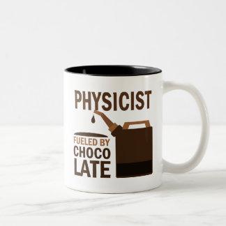 Physicist (Funny) Gift Two-Tone Mug