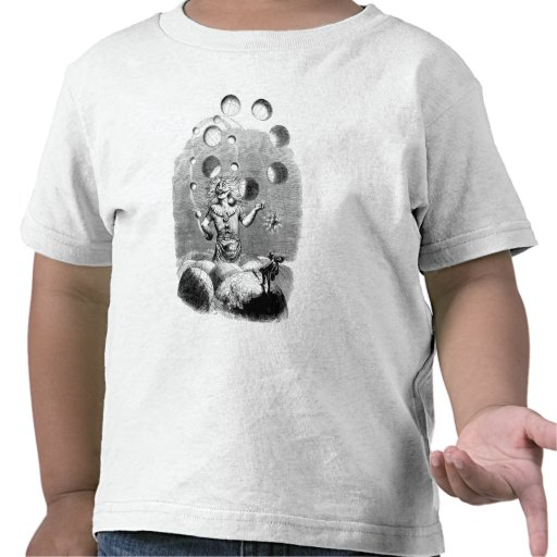 Physicist Juggling with the Planets Tshirts