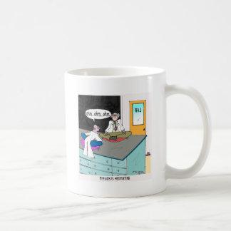 Physicists Meditating Basic White Mug