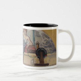 Physics, 1889 Two-Tone coffee mug