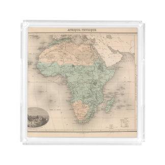 Physics Africa Acrylic Tray