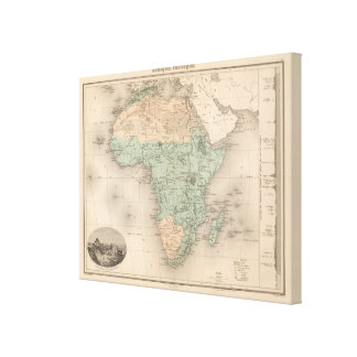 Physics Africa Canvas Print