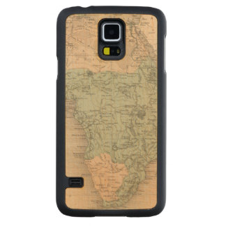 Physics Africa Carved Maple Galaxy S5 Case