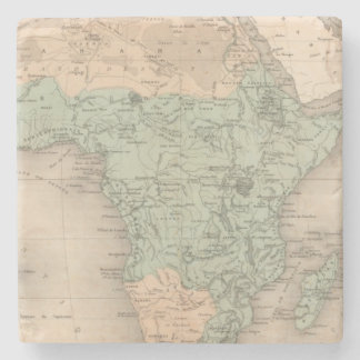 Physics Africa Stone Beverage Coaster
