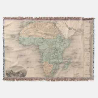 Physics Africa Throw Blanket