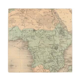 Physics Africa Wood Coaster