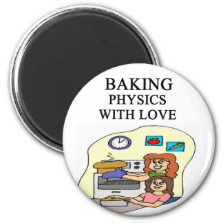 physics and baking mix magnet