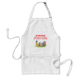 physics standard apron