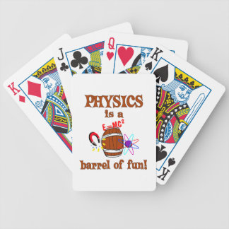 Physics Barrel of Fun Bicycle Playing Cards