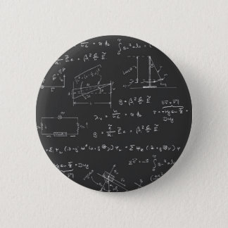 Physics diagrams and formulas 6 cm round badge