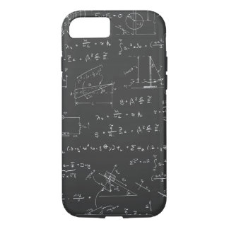 Physics diagrams and formulas iPhone 8/7 case