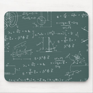 Physics diagrams and formulas mouse mat