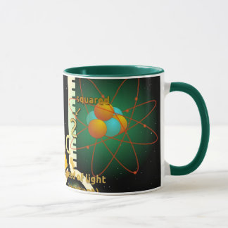 Physics E=mc2 colorful design Mug
