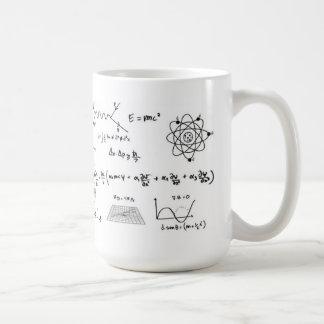 Physics Formulas Coffe Mug Caneca