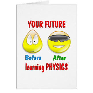 Physics Future Card