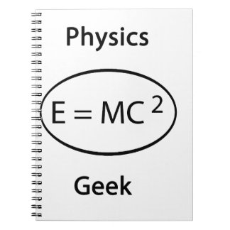 Physics geek note book