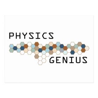 Physics Genius Postcards