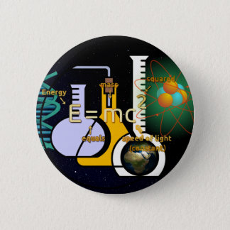 Physics is Cool 6 Cm Round Badge